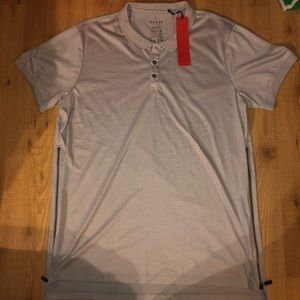 Guess SS Marlon Coated Long Polo XXL